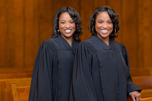 Judge Shera Grant and Judge Shanta Owens